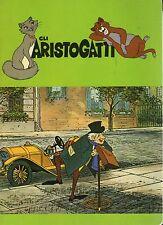 Quaderno Walt Disney:Gli ARISTOGATTI colore verde + anziano