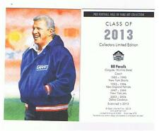 2013 Bill Parcells goal line art card New York Giants