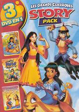 La Légende de SU-LING + Mulan + Pocahontas - 3 Grandes Histoires en 1 DVD