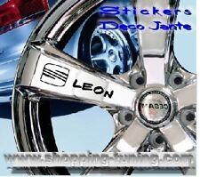 8 STICKER AUTOCOLLANT LOGO JANTE SEAT LEON CUPRA