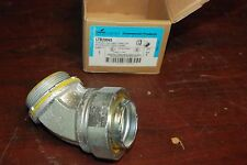 """Cooper Crouse-Hinds, Ltb20045, 2"""", 45 Degree Angle Male Connector, New in box"""