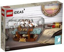 LEGO IDEAS BARCO EN UNA BOTELLA 21313 - NUEVO, PRECINTADO SIN ABRIR