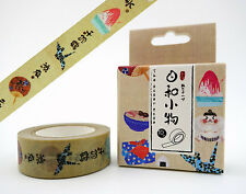 Japanese washi tape! Sumo wrestlers, Origami cranes, bento box cute planner tape