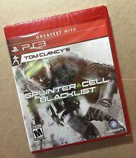 Tom Clancy's: Splinter Cell Blacklist GH (PlayStation 3; 2013) PS3 Brand New