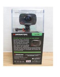 Monster Digital Vision 360 VR Virtual Reality Action Camera Tripod Set w/ Remote