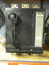 Square D Pcf362500Dc1680, 2500 Amp 500Vdc Circuit Breaker- W/ Test Report