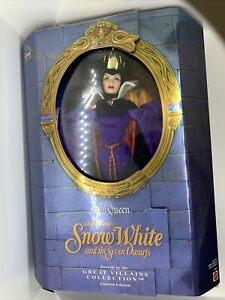 Disney limited edition doll evil queen Great villains collection Snow White