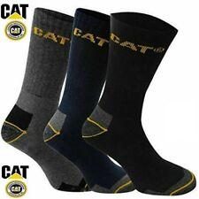1,3&6 Pairs CAT Caterpillar Industrial Work SOCKS For Mens Size 6-11 & 11-14 Lot