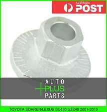 Fits TOYOTA SOARER/LEXUS SC430 UZZ40 2001-2010 - Plate