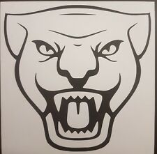 Jaguar vinyl decal graphic in choice of 54 colours and 4 sizes