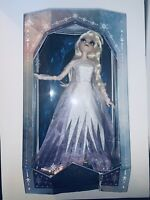 """2020 Disney Store ELSA SNOW QUEEN 17"""" Doll Limited Edition FROZEN 2 NEW"""
