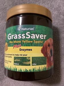 NaturVet Grass Saver Plus Enzymes 120 Soft Chews for Dogs EXP 08/3023