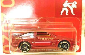 2021 Hot Wheels - TOKYO 2020 - Toyota AE-86 Corolla - New Card Style - RARE
