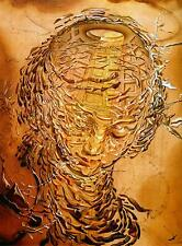 Exploding Raphaelesque Head Dali Series Movie Poster Canvas Premium Quality