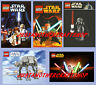 Lego Star Wars set of 5 Posters Signs AT-AT Darth Vader Yoda - high quality
