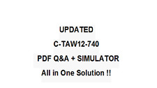 SAP CERTFIED DEVELOPMENT ASSOCIATE -ABAP WITH SAP NETW7.4 Exam QA PDF&Simulator
