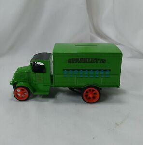 ERTL Die Cast Sparkletts Truck Bank with Key