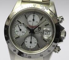 Good!! TUDOR Chrono Time TIGER 79280 Automatic Men's_363348