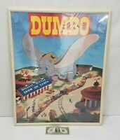 Dumbo Movie - Vintage Walt Disney Poster - Dated 1941 - Greatest Show One Stop