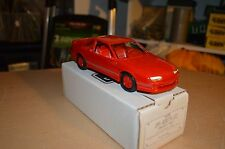 AMT ERTL Dealer Promo Car 1991 Chevrolet Baretta GTZ Red NEW IN BOX