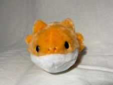 Nwt Round One 1 Plush Benteng Yell Kawaii Orange Salamander Amphibian Lizard 8""