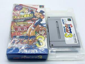 Vintage Video Game Super Famicom Hissatsu Pachinko Collection  *Japanese Import*