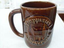 Chope en grès publicitaire pour la bière des Trappistes de Rochefort