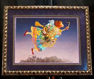 """The """"Responsible Woman"""" by James Christensen Framed Signed lithograph #1721/2500"""