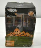 Gemmy 9 Foot Wide Halloween Inflatable Harvest Pumpkin Friends LED Lighted 74717