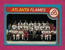 1979-80 TOPPS # 244 FLAMES UNMARKED TEAM CHECKLIST NRMT-MT CARD (INV#4165)