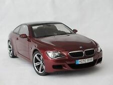 1:18 Kyosho BMW M6 E63 Dealer Edition Red/Carbon Fiber #80430398134 -rare
