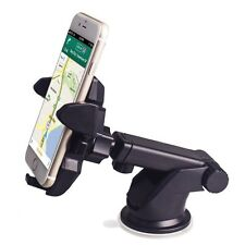Universal In Car 360° Mobile Phone Mount Holder For iPhone Samsung GPS iPod UK1