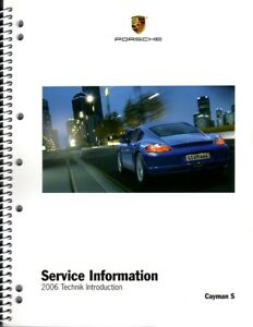 New Porsche Owners Manual for all 2006-2009 Gen 1 Cayman /& Cayman S models Uno