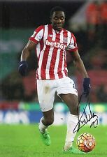Giannelli Imbula Signed 12X8 Photo Stoke City Genuine Autograph AFTAL COA (1923)