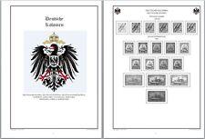 HIT Vordruckblätter Deutsche Kolonien mit Bildern auf CD In WORD und PDF
