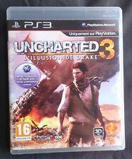 Uncharted 3 : L'Illusion de Drake - PS3 (complet et bon état)