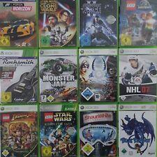 Microsoft Xbox 360 Spiele ohne Anleitung PAL Spiel Game frei wählbar
