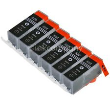 6 Druckerpatronen PGI-520 MP540 MP550 MX 860 MX 870 MP 620 MP630 MP640 NEU