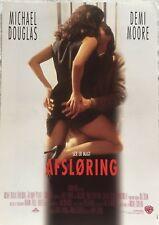 Disclosure Michael Douglas Demi Moore Donald S 1994 Danish Movie Press Release