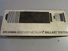Sylvania Mercury Metalarc Ballast Tester
