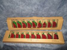 Watermelon light strands, lot of 2 10 light strand 2 Aa batteries