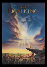 THE LION KING ☆ ARTIST PROOF ☆ HAND-SIGNED & DATED ☆ MOVIE POSTER 1-SH ☆ 2-SIDED