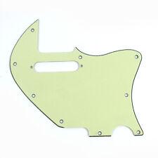 ACOUSTASONIC TELE Hybrid Style Guitar Pickguard , 3Ply Vintage Mint Green