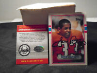 1989 TONY DORSETT TOPPS TRADING CARD #240 AUTOGRAPH PINPOINT AUTHENTICATED