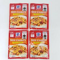 4 McCormick Chicken Fiesta Slow Cookers Seasoning Mix Packets 1.25 oz exp 12/21