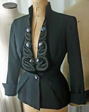 SORELLE FONTANA Wool & Velvet 'New Look' Jacket 40s