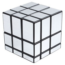 Hot 3x3x3 Straight Drawing Mirror Magic Puzzle World Twist Game Magic Cube Toys