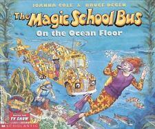 The Magic School Bus on the Ocean Floor Joanna Cole Paperback NEW