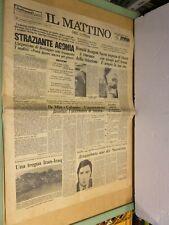 Agonia di Berlinguer Rielezione Reagan De Mita e Colombo Moser Maradona Marano