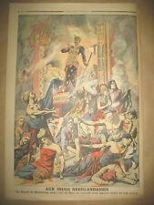 INDONESIE BALI SUICIDE RAJAH DE BOELELENG AGEN ACCIDENT LE PETIT JOURNAL 1906